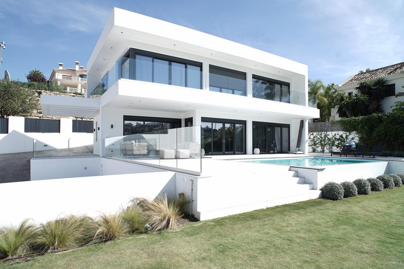 interiorismo benahavis exterior villa