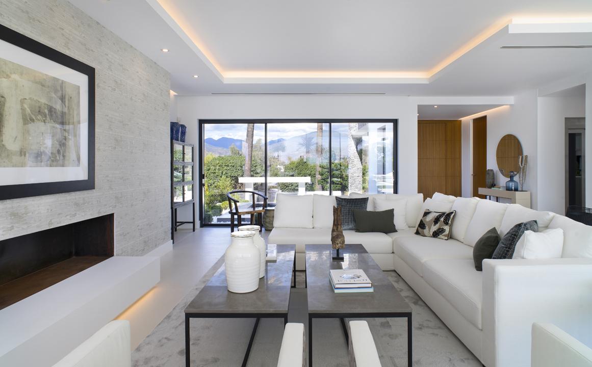 interiorismo marbella casa salon