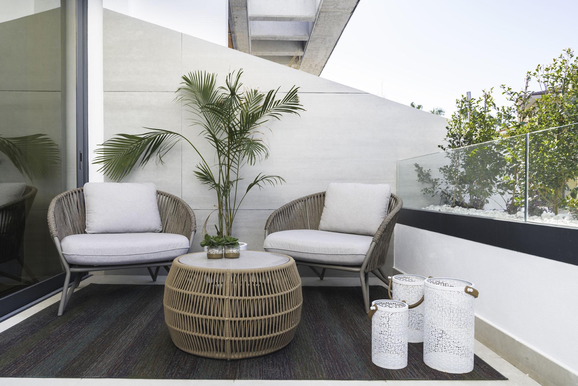 decoracion villa piloto dormitorio terraza