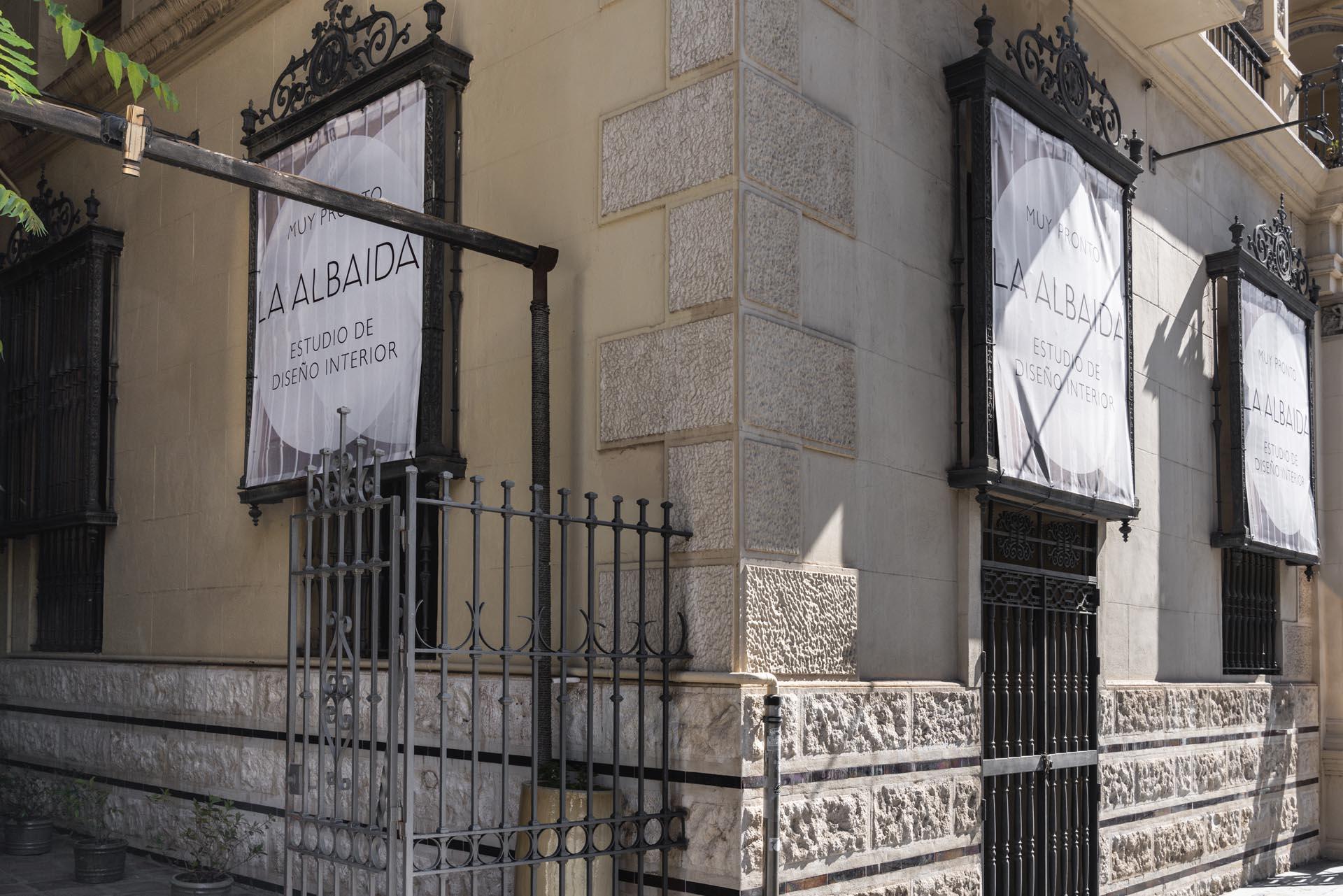 estudio interiorismo malaga La Albaida nuevo showroom fachada