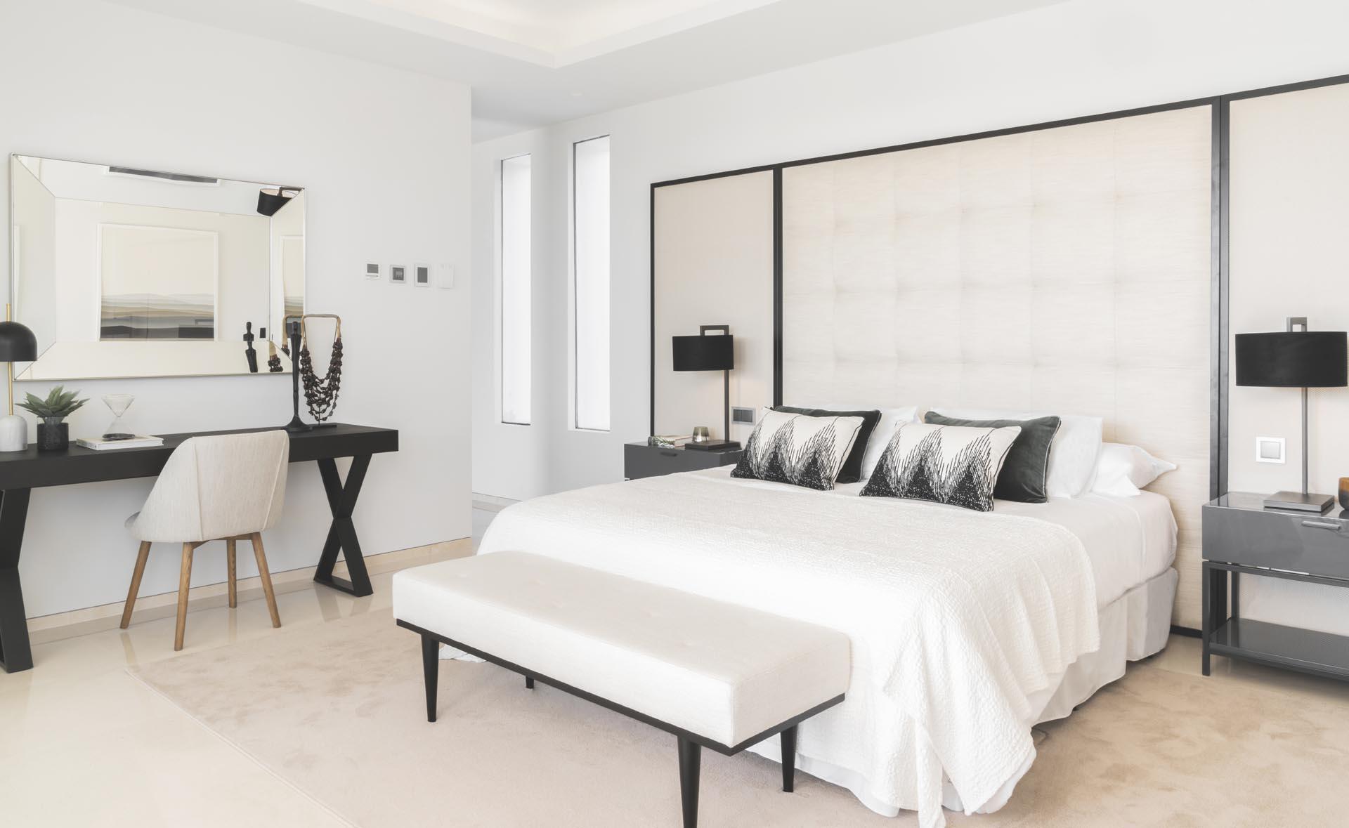 interiorista marbella dormitorio vista